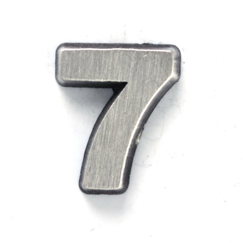 Number 7 seven pin
