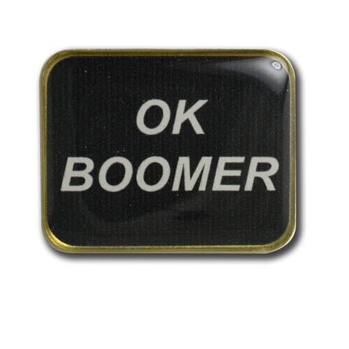OK Boomer Lapel Pin