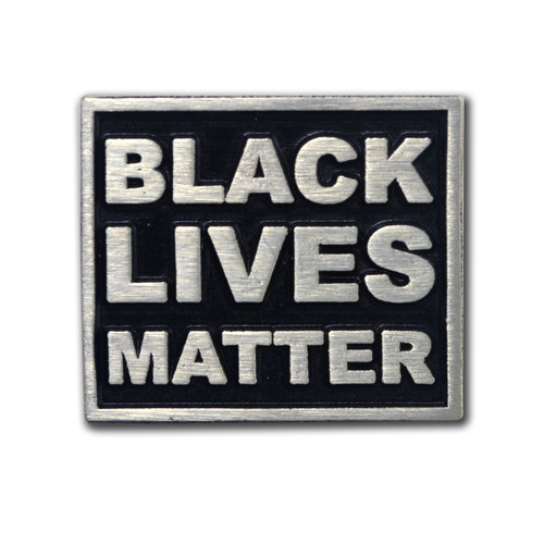Front Side - Black Lives Matter Pin