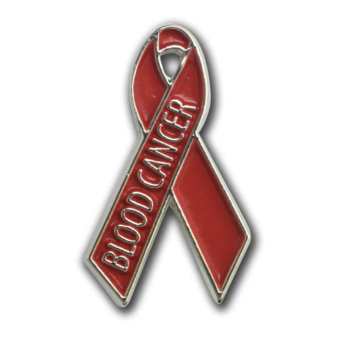 Blood Cancer Awareness RIbbon Lapel Pin
