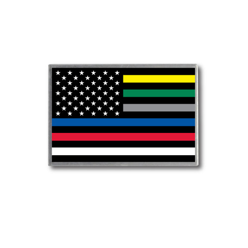 Thin Line Front Line Professionals Support Lapel Pin