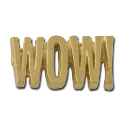 WOW! Lapel Pin | StockPins.com