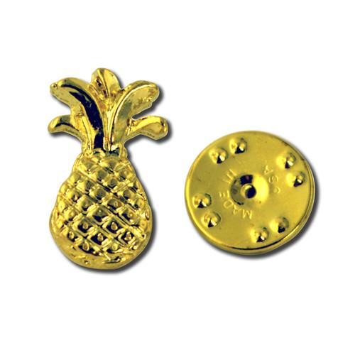 N15 Pineapple Lapel Pin   Hospitality Pin   StockPins.com