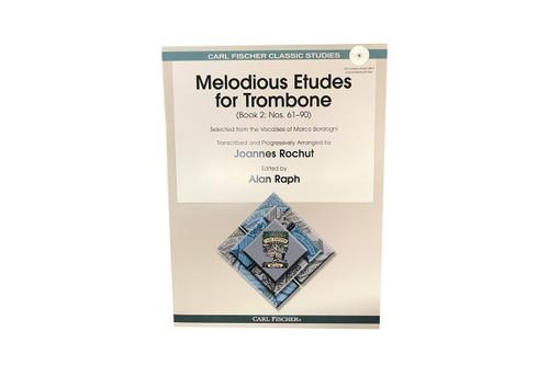 Melodious Etudes for Trombone Book 2 - Joannes Rochut & Alan Raph
