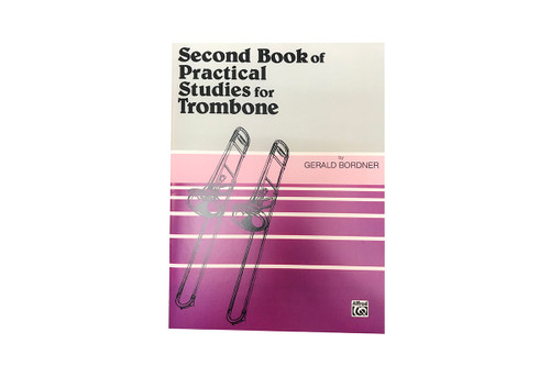 Second Book of Practical Studies for Trombone - Gerald Bordner