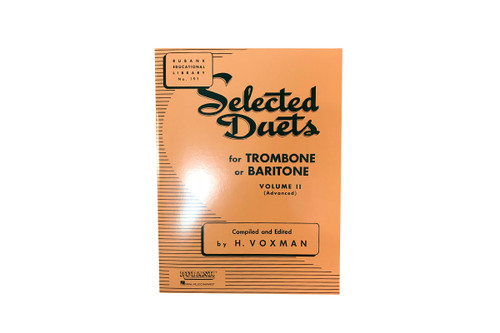 Selected Duets for Trombone or Baritone Vol.2 - H. Voxman