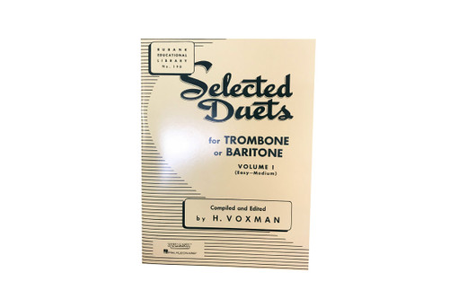 Selected Duets for Trombone or Baritone Vol. 1 - H. Voxman