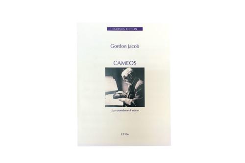 Cameos for Bass Trombone & Piano - Gordon Jacob