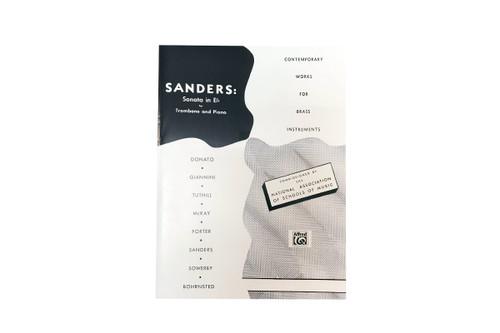 Sonata in Eb for Trombone & Piano - Sanders