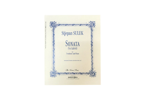 Sonata (Vox Gabrieli) for Trombone & Piano - Stjepan Sulek