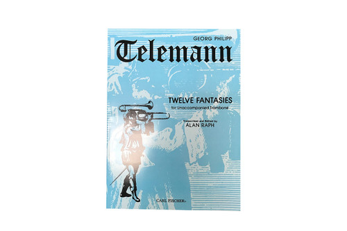 Twelve Fantasies - Georg Philipp Telemann