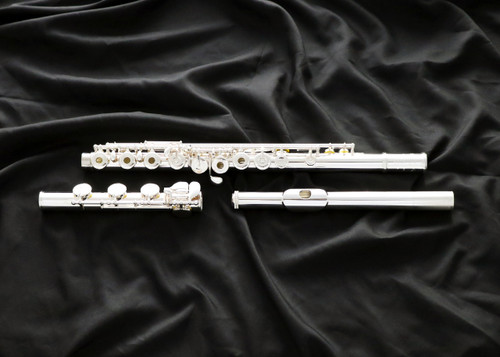 Featuring a hand-cut sterling silver headjoint and the same high-quality craftsmanship found in the GX and DS models, the Muramatsu EX is the ideal choice for the advancing flutist. Muramatsu EX (EX-BO)