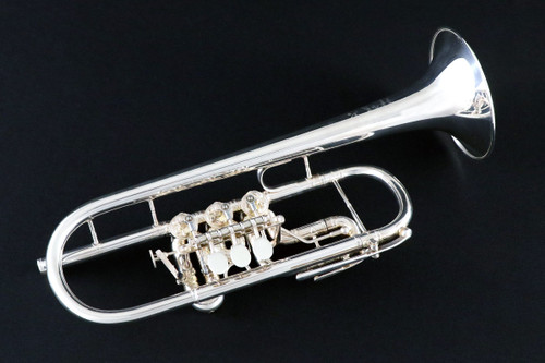 "Scherzer ""Cologne Model"" Rotary C Trumpet"