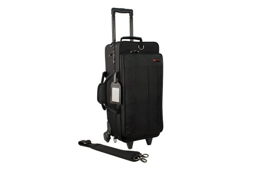 Protec IP301DWL Double Trumpet IPAC Case with Wheels