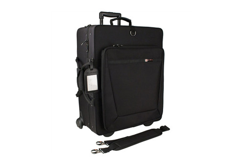 Protec IP301QWL Quad Trumpet IPAC Case with Wheels