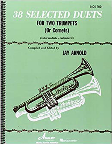 38 Selected Duets for Trumpet: Book 2 - Arnold