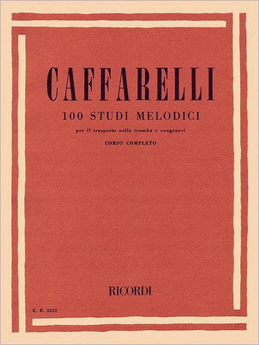 100 Studi Melodici (Melodic Studies) - Caffarelli