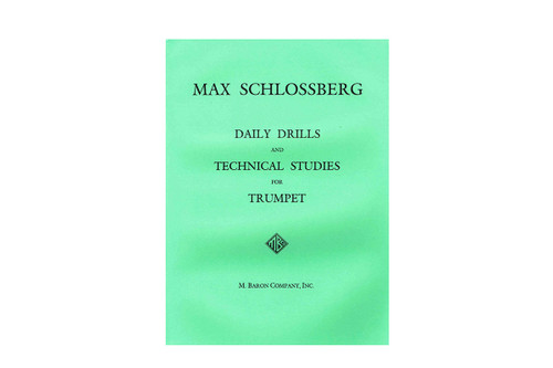 Daily Drills and Technical Studies - Schlossberg
