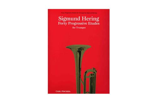 Forty Progressive Etudes for Trumpet - Hering