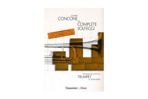 The Complete Solfeggi for Trumpet - Concone