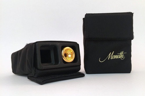 Monette Double Trumpet Mouthpiece Pouch