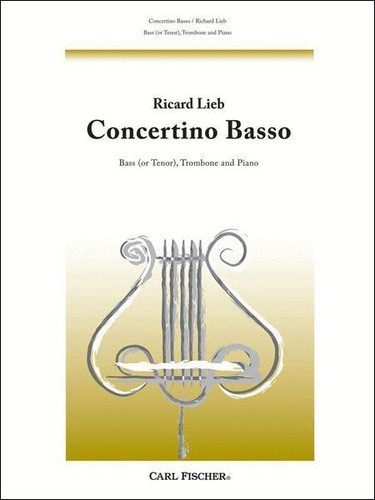 Concertino Basso for Bass Trombone - Lieb