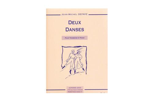 Deux Danses for Trombone and Piano - Defaye