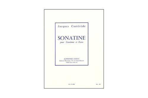 Sonatine for Trombone and Piano – Casterede