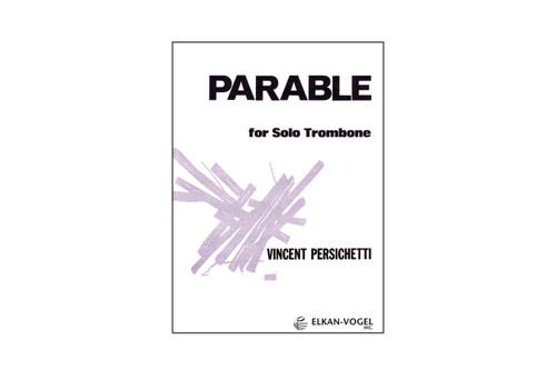 Parable for Solo Trombone – Persichetti