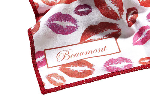 Beaumont Small Microfibre Polishing Cloth – Bubblegum Kisses