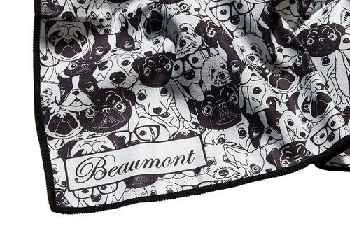 Beaumont Large Microfibre Polishing Cloth - Old Dog