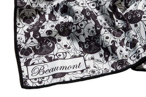 Beaumont Large Microfibre Polishing Cloth – Old Dog