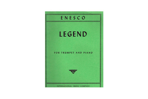 Legend for Trumpet and Piano – Enesco