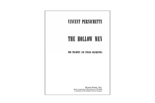 The Hollow Men for Trumpet and String Orchestra – Persichetti