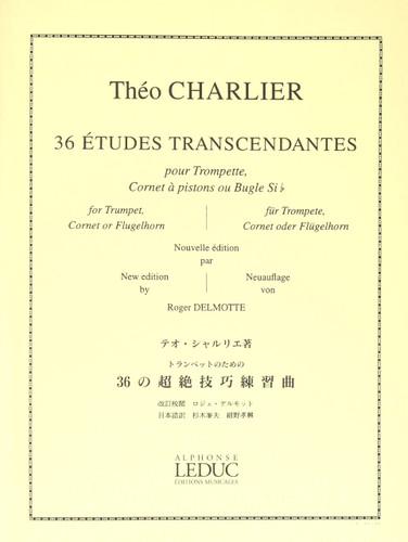 36 Etudes Transcendantes - Charlier