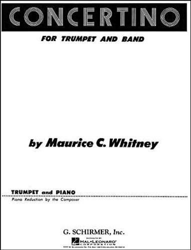 Concertino for Trumpet and Band - Whitney