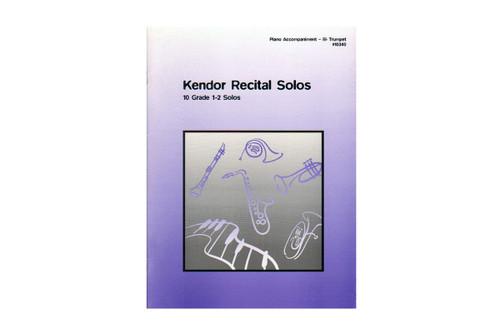 Kendor Recital Solos