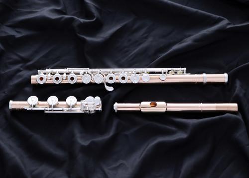 Powell Handmade Conservatory Aurumite 9K Flute (Powell-Cons-Aurumite9K)
