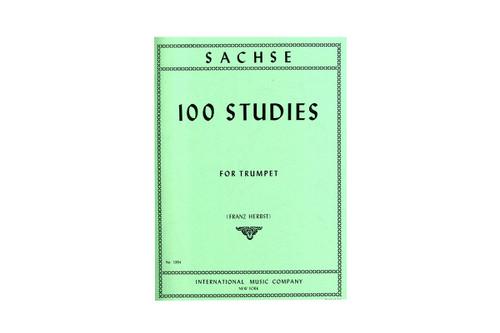 100 Studies for Trumpet - Sachse