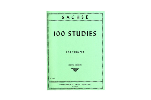 100 Studies for Trumpet - Sachse