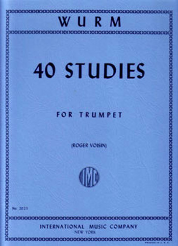 40 Studies for Trumpet - Wurm