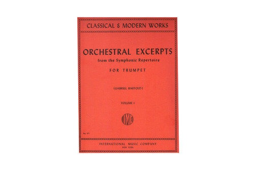 Orchestral Excerpts Vol. 1 - Bartold