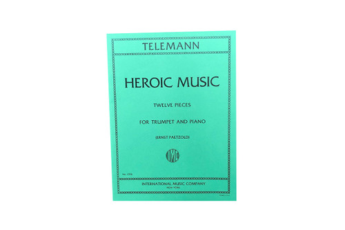 Heroic Music (Twelve Pieces) - Telemann