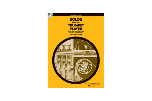 Solos for the Trumpet Player CD Only - Beeler