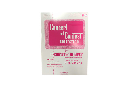 Concert and Contest Collection with Audio Access - Voxman