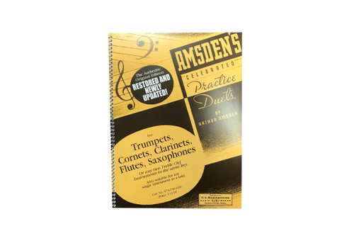 Celebrated Practice Duets - Amsden