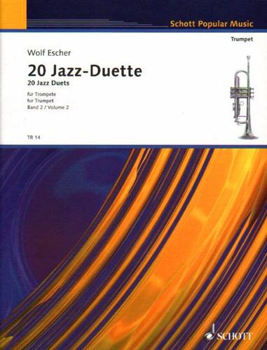 20 Jazz Duets for 2 Trumpets - Escher
