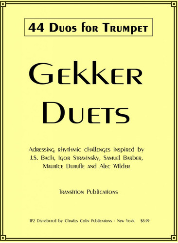 44 Duos for Trumpet - Gekker