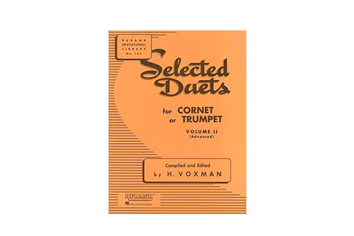 Selected Duets for Cornet or Trumpet Vol. II - Voxman