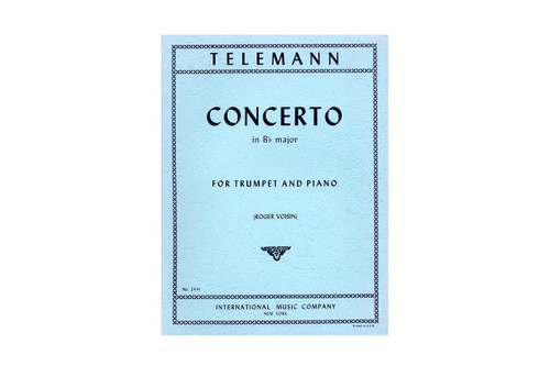 Concerto in Bb Major - Telemann